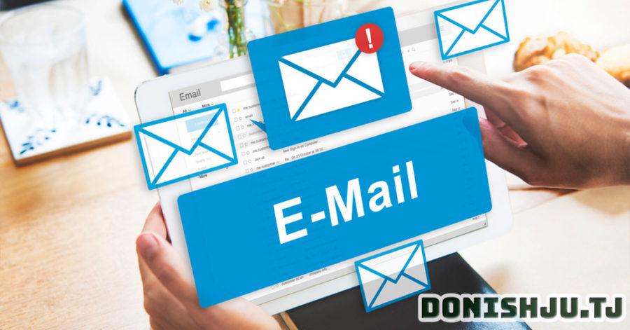 Почтаи электронӣ E-mail