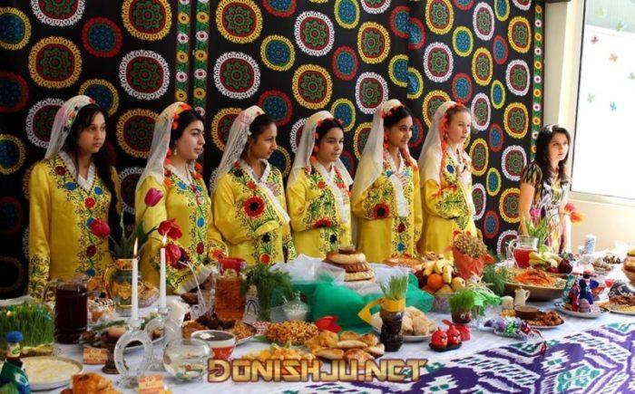 навруз в таджикистане, навруз картинка, духтари точик